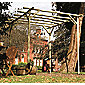 Holwel Pergola - Includes 4 bags of Metcrete for fixing posts into the ground