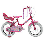 "Sunbeam Heartz 14"" Girls' Bike designed by Raleigh"