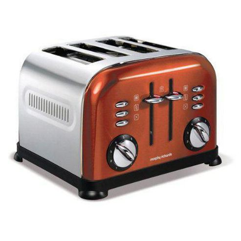 Morphy Richards 44744 4 Slice Toaster - Copper