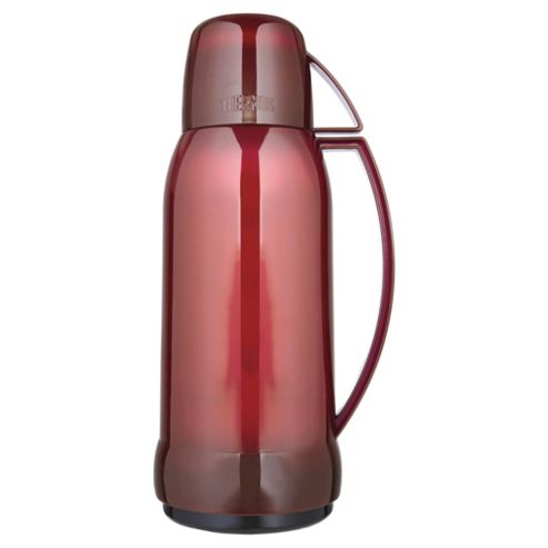 Thermos 1L Flask, Blue and Red