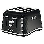 Delonghi CTJ4003.BK Black Brillante Toaster