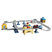 Chuggington Interactive Set The Steam Around Old Town Set with Puffer Pete