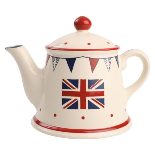 T&G Woodware Street Party Teapot