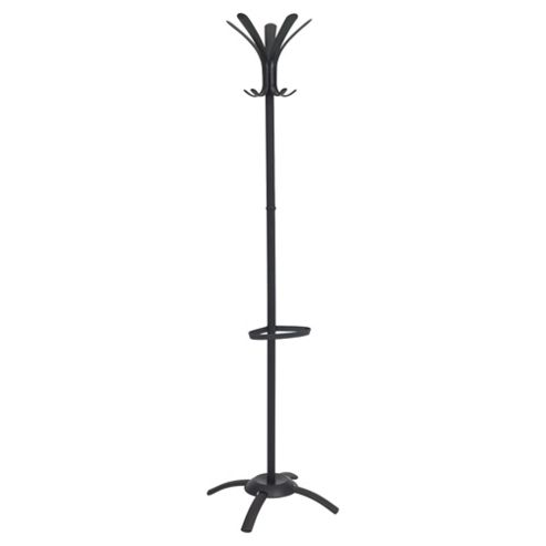 Cleo 10 Hook Coatstand - Black