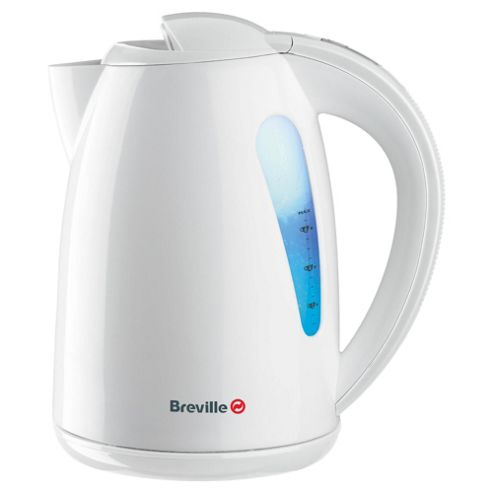 Breville Illuminated Plastic Jug Kettle, 1.5L - White