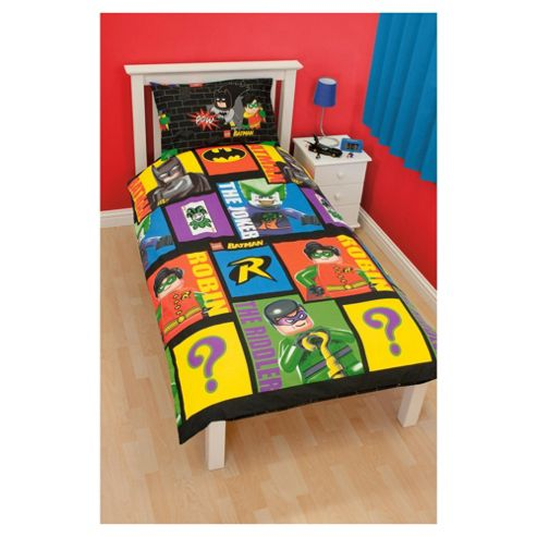 Lego Batman Cards Single Duvet Cover Set