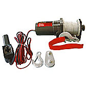 AM Tech 2000 LBS Electric Winch