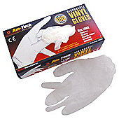 AM Tech 100 Disposable Vinyl Gloves