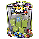 The Trash Pack - 5 pack of Trashies in Bins