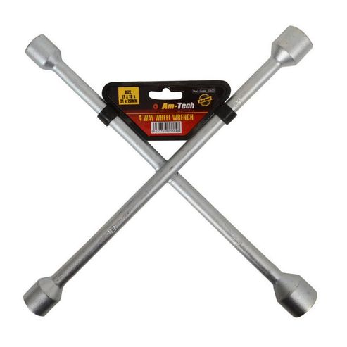 AM Tech 4 Way Wheel Wrench