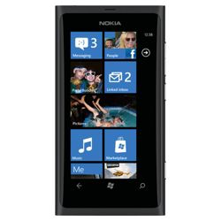 Tesco Mobile Nokia lumia 800 Black