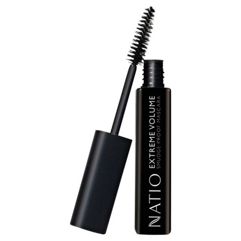 Natio Extreme Volume Smudge Proof Mascara Black