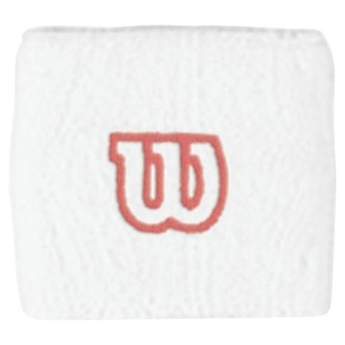 Wilson Tennis Wristband, White
