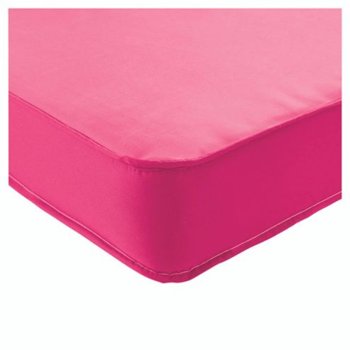 Airsprung Single Mattress - Essentials Kids Waterproof, Pink