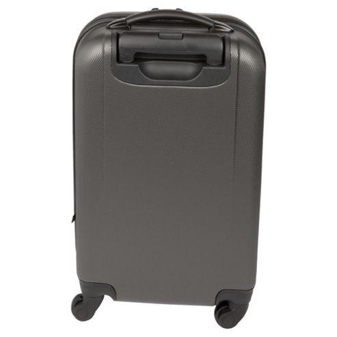 buy tesco 4 wheel hard shell suitcase grey small from our. Black Bedroom Furniture Sets. Home Design Ideas