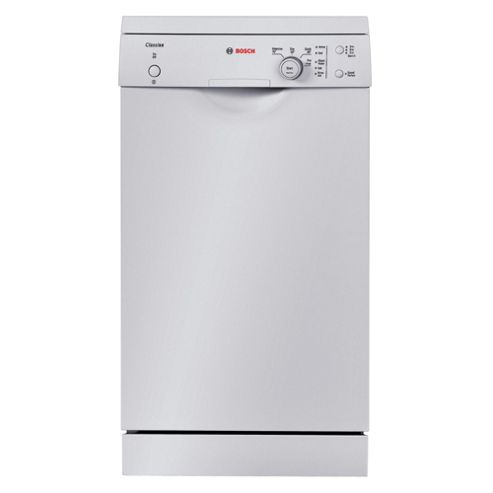 Bosch SPS40C12GB Slimline Dishwasher, A+ Energy Rating. White