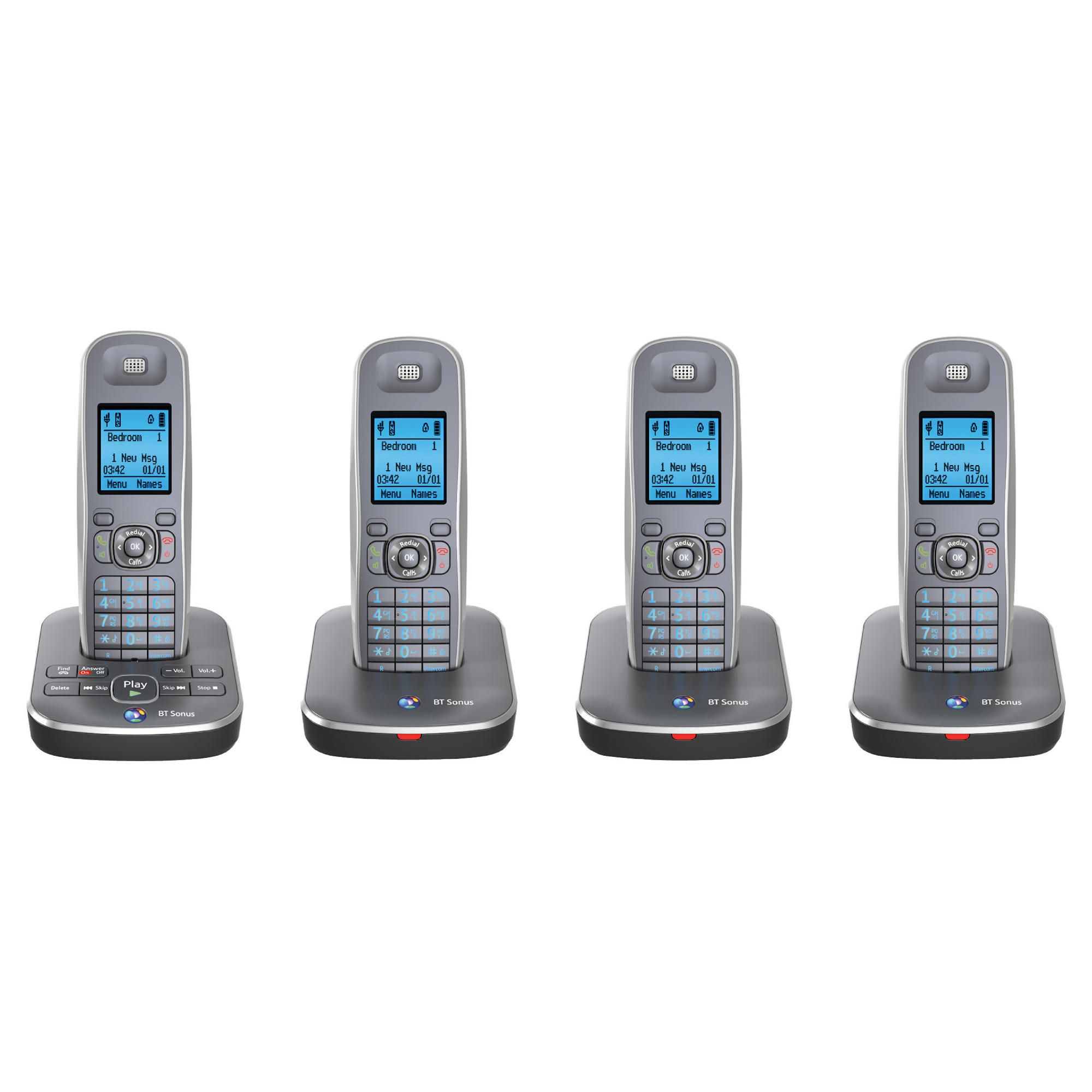 BT Sonus 1500 cordless Telephone – Set of 4
