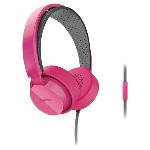 Philips CitiScape Shibuya Headband Headphone Pink SHL5205BL/10