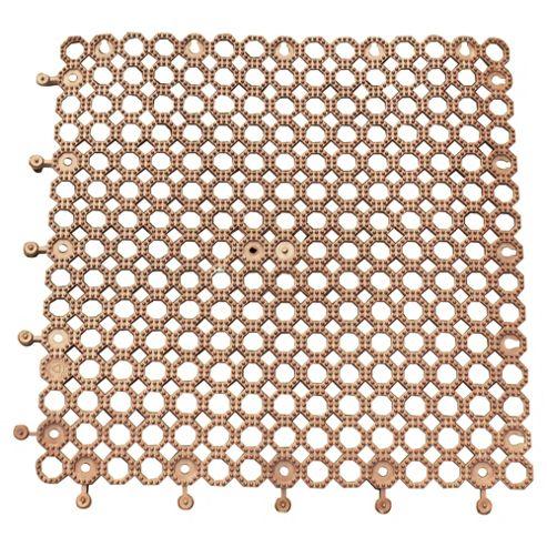 Plum Protektamat 50cm x 50cm, Brown Pack of 2