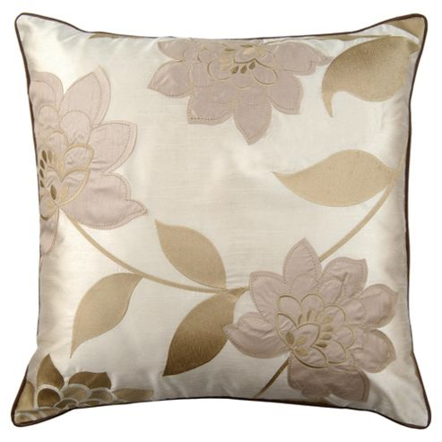 Catherine Lansfield Clarissa Cushion Chocolate