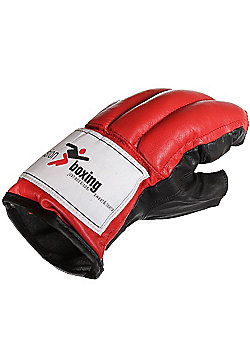 Precision Boxing Fingerless Punchbag Mitts Large