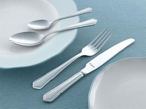 Amefa Monogram Dubarry 58 piece, 8 Person Boxed Cutlery Set