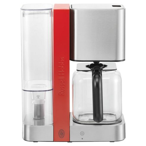 Russell Hobbs 1.4 Touch Coffee Machine - Stainless Steel