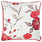 Tesco Cushions Jasmine Blossom Cushion, Red
