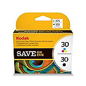 Kodak 30B/ Kodak 30CL Printer Ink Cartridges - Black and Colour Multipack