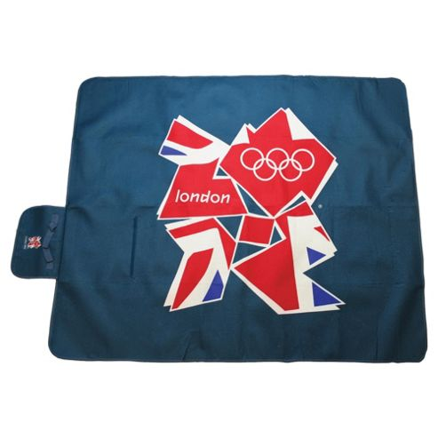 Highlander London 2012 Olympics Waterproof Picnic Rug, 2012 Emblem