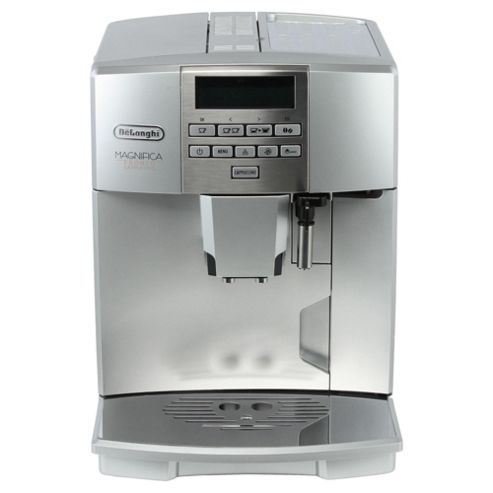 Buy DeLonghi ESAM04 One Touch Bean to Cup Multi Beverage Coffee Machine - Silver from our Bean ...