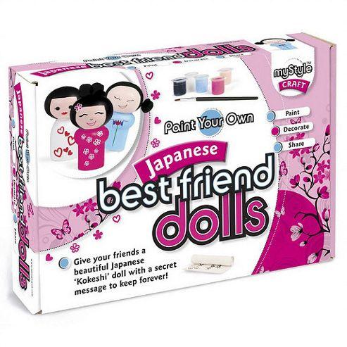 myStyle Japanese Best Friend Dolls