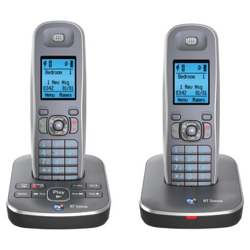 BT sonus 1500 cordless telephone - Set of 2