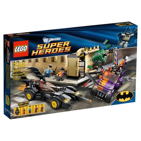 Lego Super Heros Batmobile And The Two-Face Chase 6864