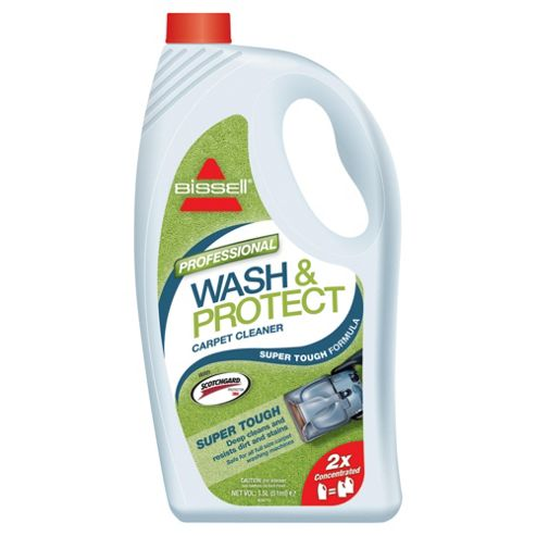 BISSELL Wash & Protect 2X Concentrated Carpet Washing Formula with Scotchgard Protection - Professional