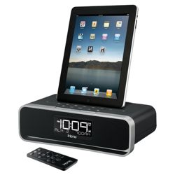 IHome ID91 iPad/iPhone/iPod docking Clock radio