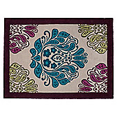 Tesco Rugs Multicolour Damask Rug 120X170Cm
