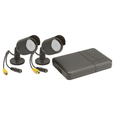 Friedland Response Wired 2 Colour Camera and 2 Channel DVR CCTV Kit