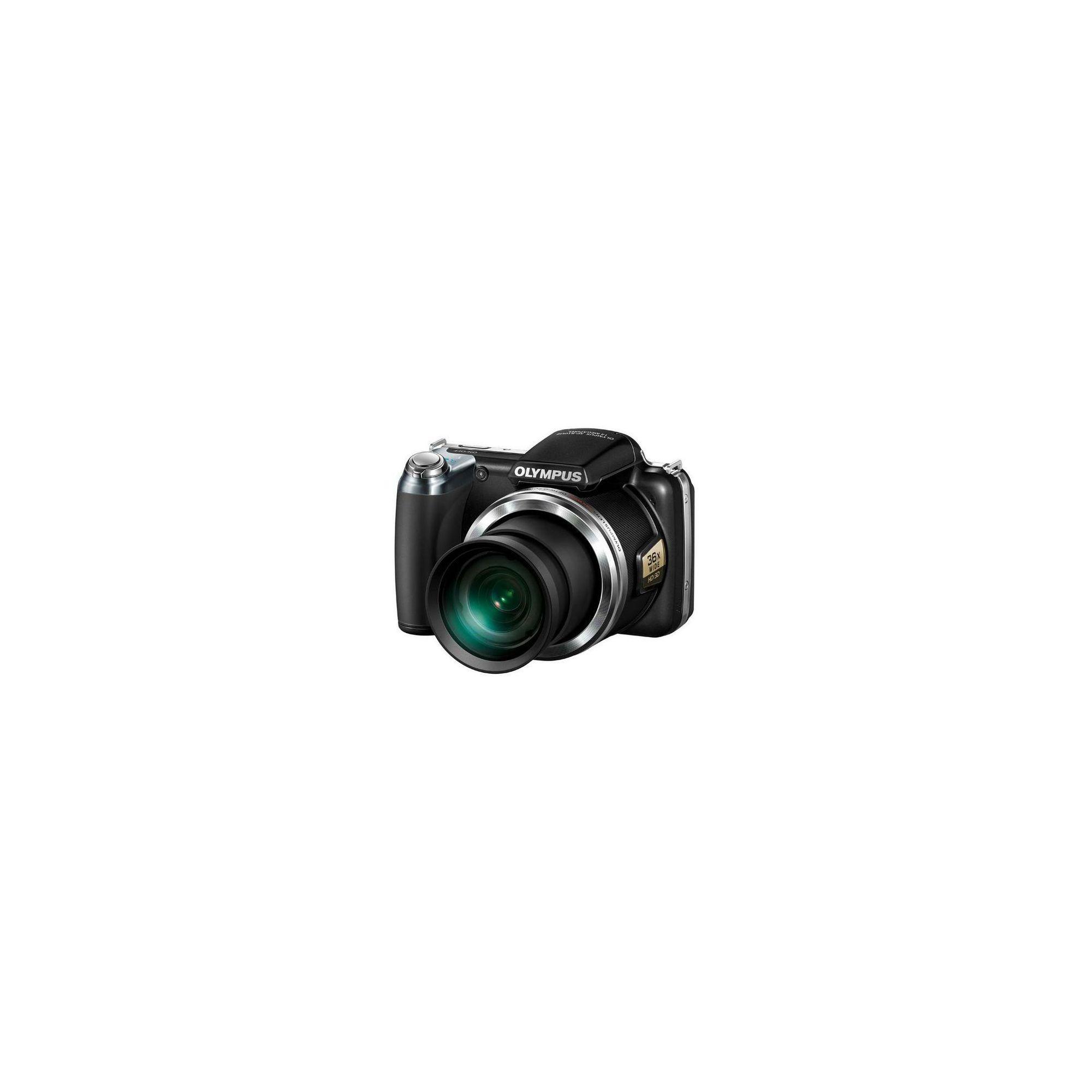 Olympus SP-810UZ 14MP Digital Camera - Black