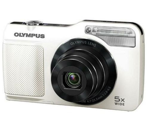 Olympus VG-170 Digital Camera - White