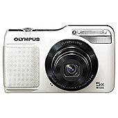 "Olympus VG-170 Digital Camera 3"" LCD, White"