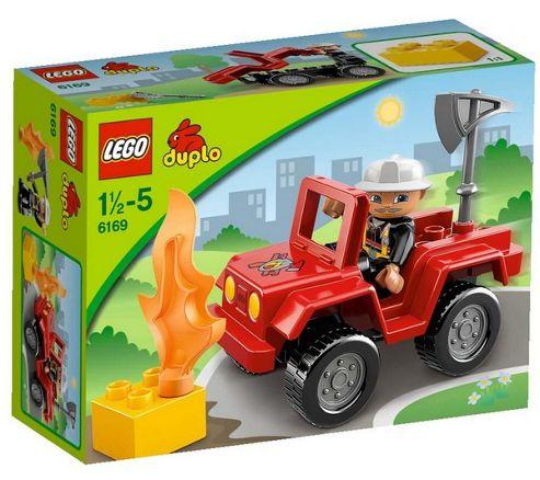 LEGO Duplo Fire Chief 6169