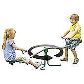 Plum Rotating Metal Seesaw