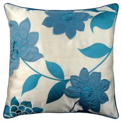 Catherine Lansfield Clarissa Cushion Teal