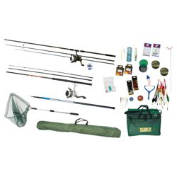 Zebco All-In-One Complete Course Fishing Set