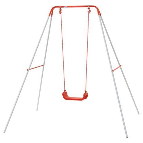 Plum Metal Single Swing Set
