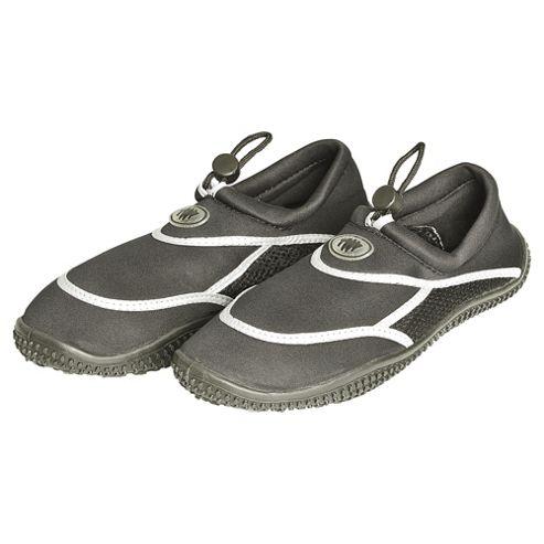 TWF Adult Wetshoes, Black Size 9