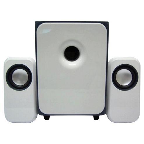 Technika TKSW211 2.1 Channel USB PC/ Laptop Speakers