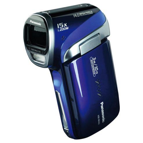 Panasonic WA2 HD Waterproof Camcorder, Blue
