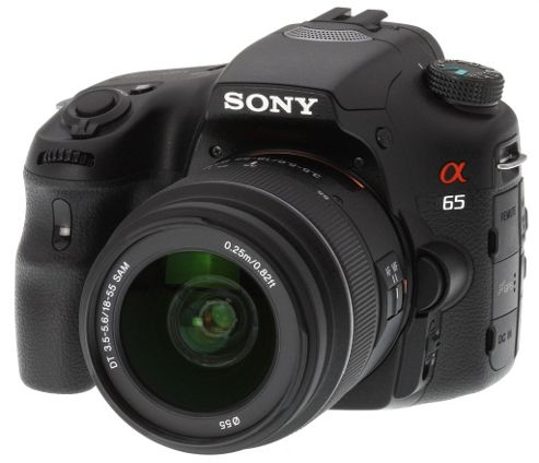 Sony Alpha SLT A65 Body with 18-55mm Lens Kit